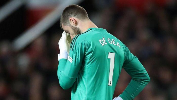 David De Gea Kembali Membuat Kesalahan Saat Man United Dikalahkan Man City 0-2