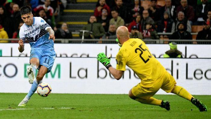 Lazio lolos ke final Coppa Italia usah mengalahkan AC Milan 1-0 di semifinal leg II. (Foto: Marco Rosi / Getty Images)