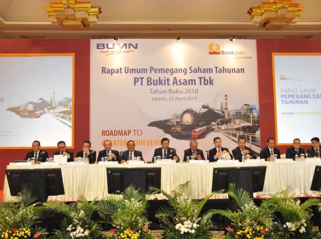 Kinerja PTBA Meningkat 12% di 2018, Laba Bersih Capai Rp 5,02 T