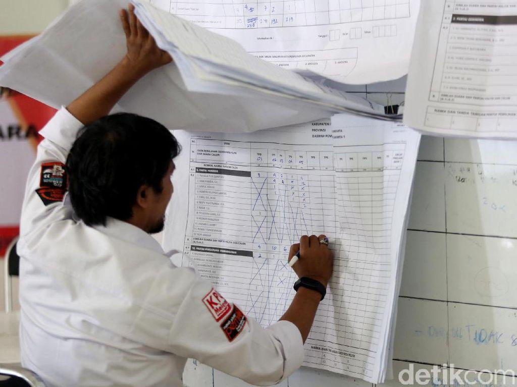 KPU: 46 Kabupaten/Kota Sudah Selesaikan Rekapitulasi Suara