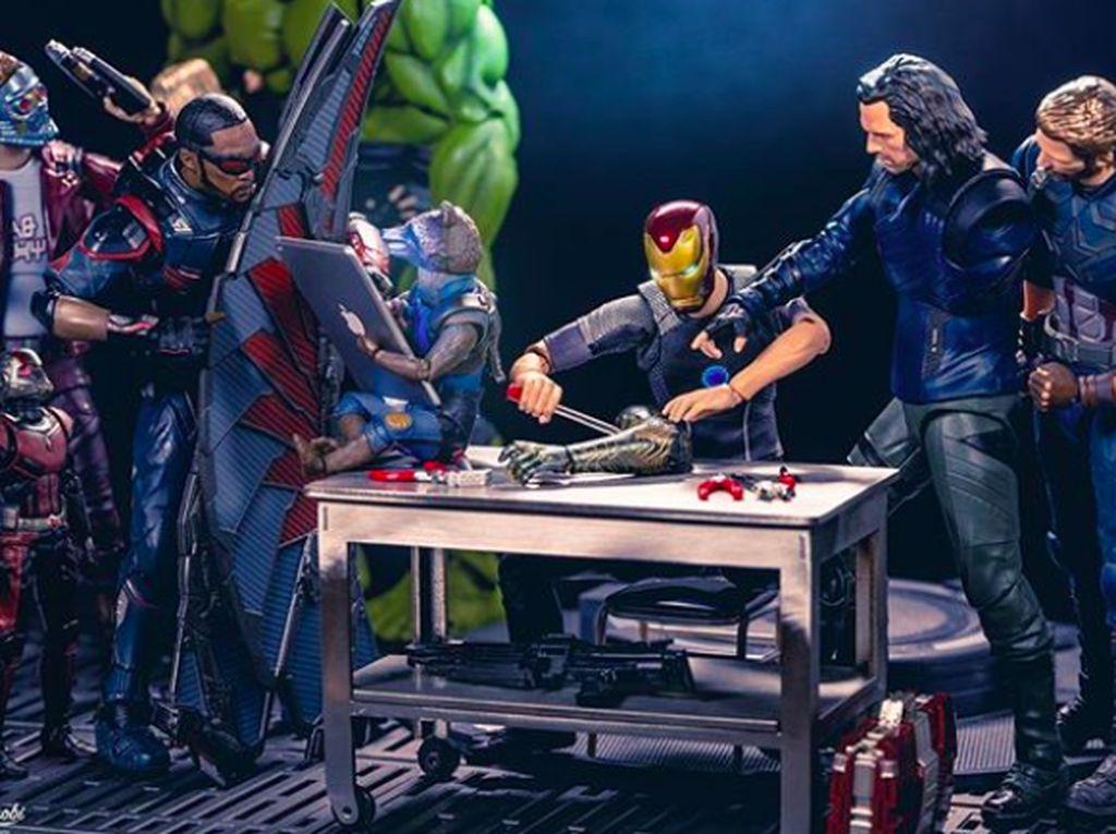 Kelakuan Kocak Sehari-hari Para Superhero Avengers Mini