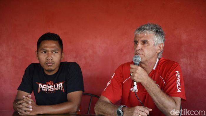 Ivan Kolev tak banyak melakukan persiapan jelang laga kontra Bali United di Piala Indonesia (Amalia Dwi Septi/detikSport)