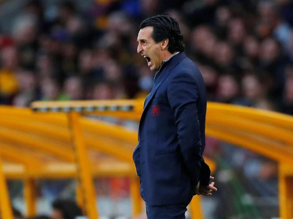 Arsenal Dipermalukan Wolves, Emery Marah ke Diri Sendiri