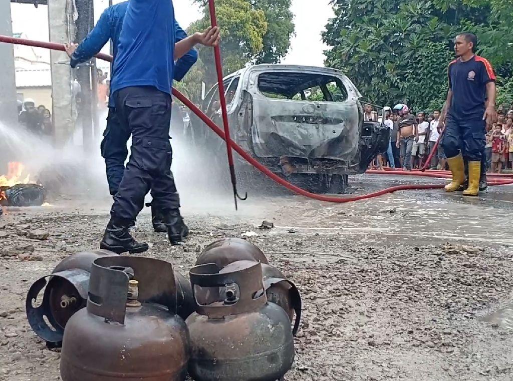 Mobil Pembawa BBM Terbakar di Parepare, Sopir Alami Luka Bakar