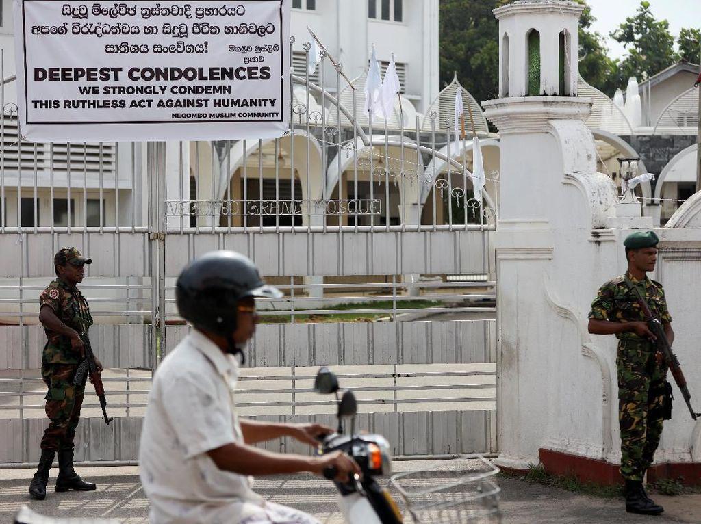 Sri Lanka Kontrol Ketat Masjid-masjid Lokal Usai Serangan Bom
