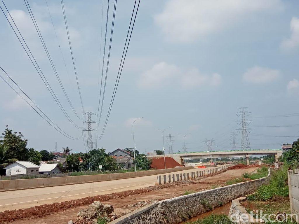 Imbas Pembangunan Tol Desari, Warga Gandul dan Brigif Ngeluh Macet