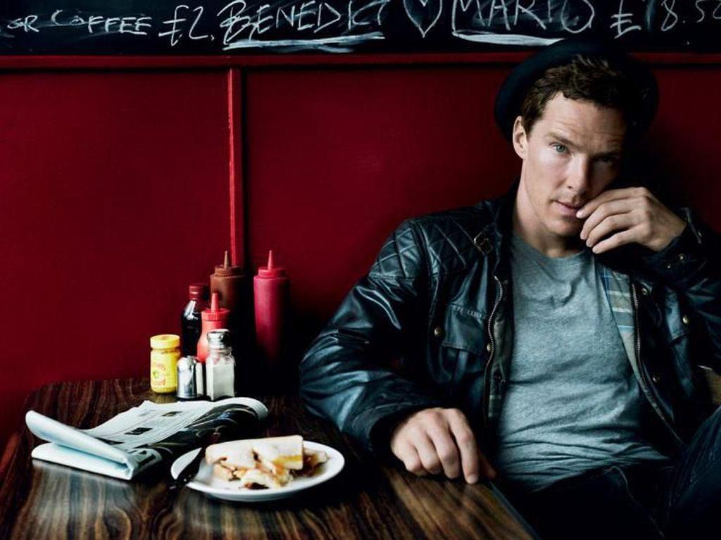 Perankan Doctor Strange di film Avengers, Benedict Cumberbatch Hobi Makan Enak