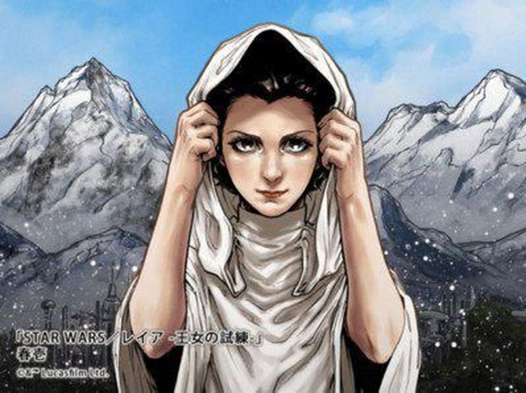 Komik Princess Leia Star Wars saat Remaja Terbit di Jepang