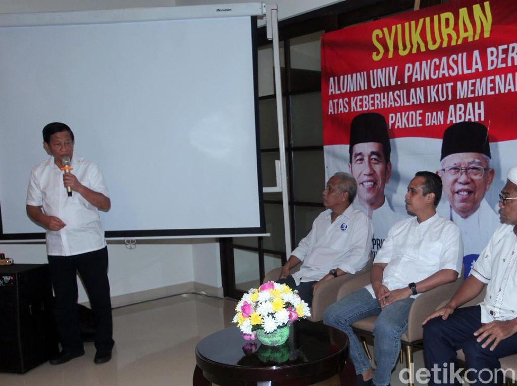 Agum Gumelar Minta Pendukung Jokowi Dewasa Sikapi Hasil Pilpres