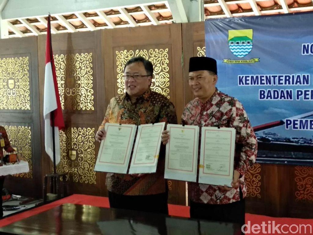 Bappenas-Pemkot Kerja Sama Kembangkan Metropolitan Bandung Raya