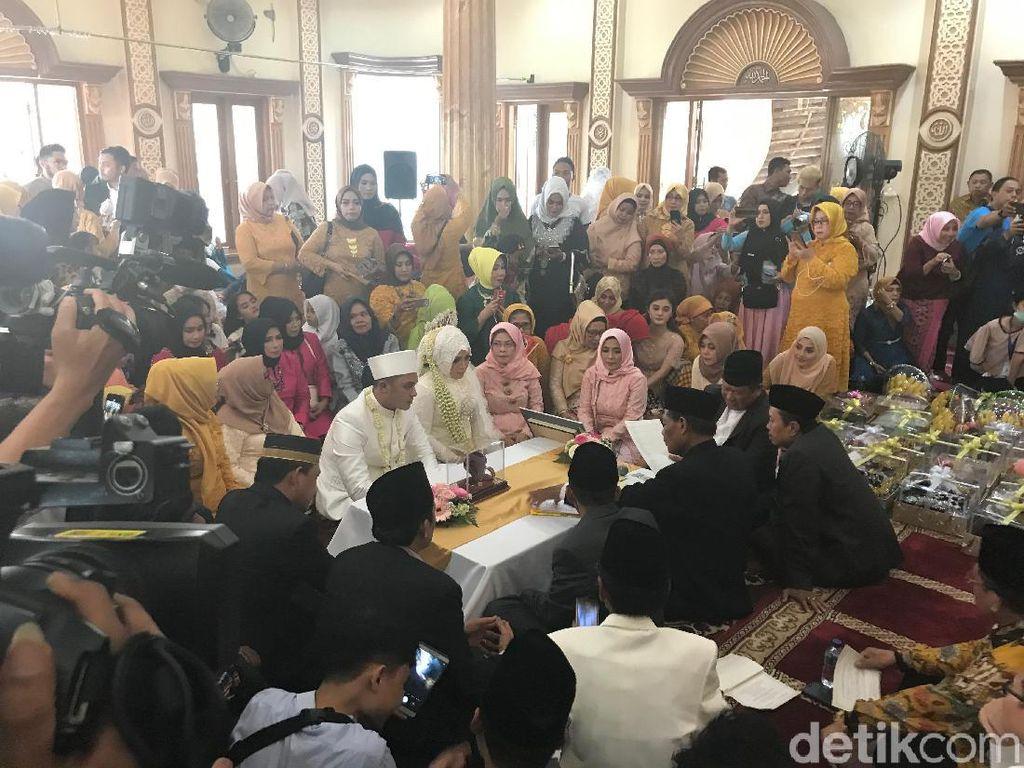 Sah! Muzdalifah Sudah Resmi Jadi Istri Fadel Islami
