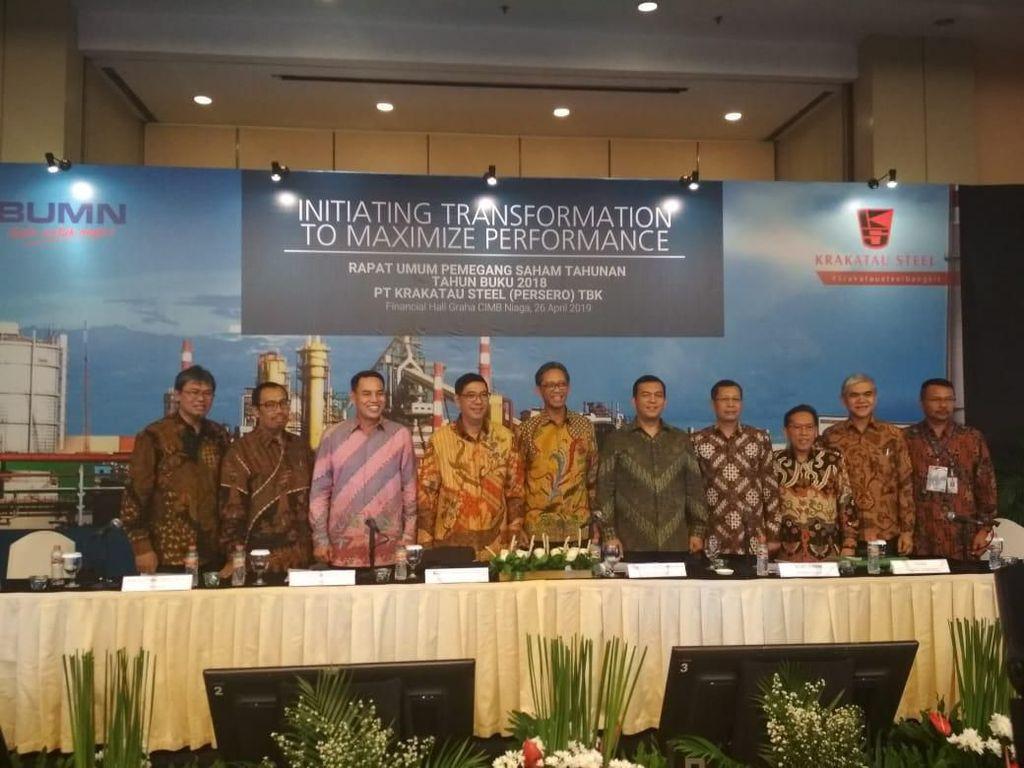 Krakatau Steel Angkat Direksi Baru, Gantikan yang Ditangkap KPK