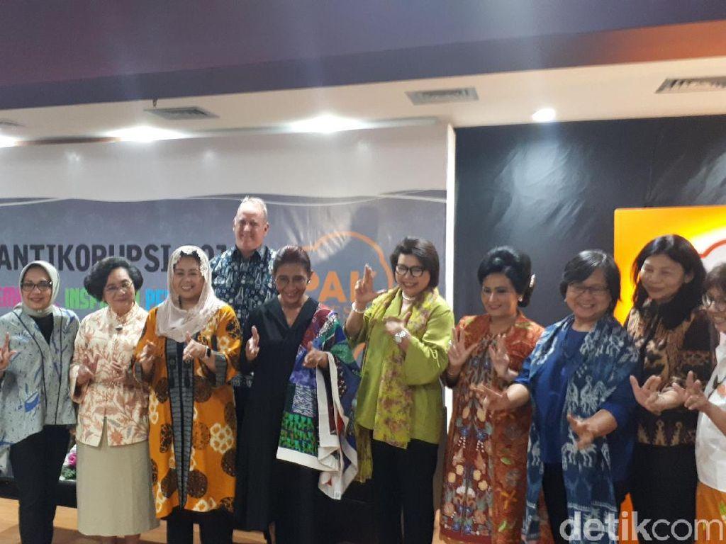 Di Kartini Antikorupsi, Wakil Ketua KPK Sapa Susi Menteri Tenggelamkan