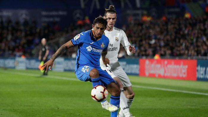 Getafe vs Real Madrid imbang tanpa gol. (Foto: Arroyo Moreno/Getty Images)