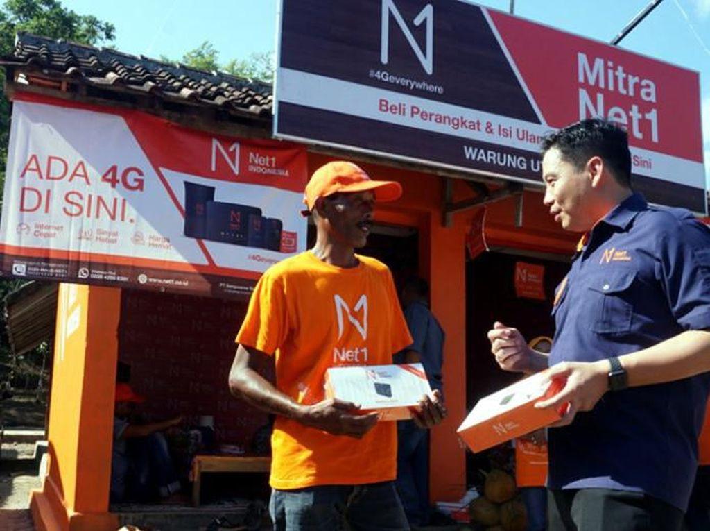 Operator Net1 Sebar Akses Internet ke Pedesaan Terpencil