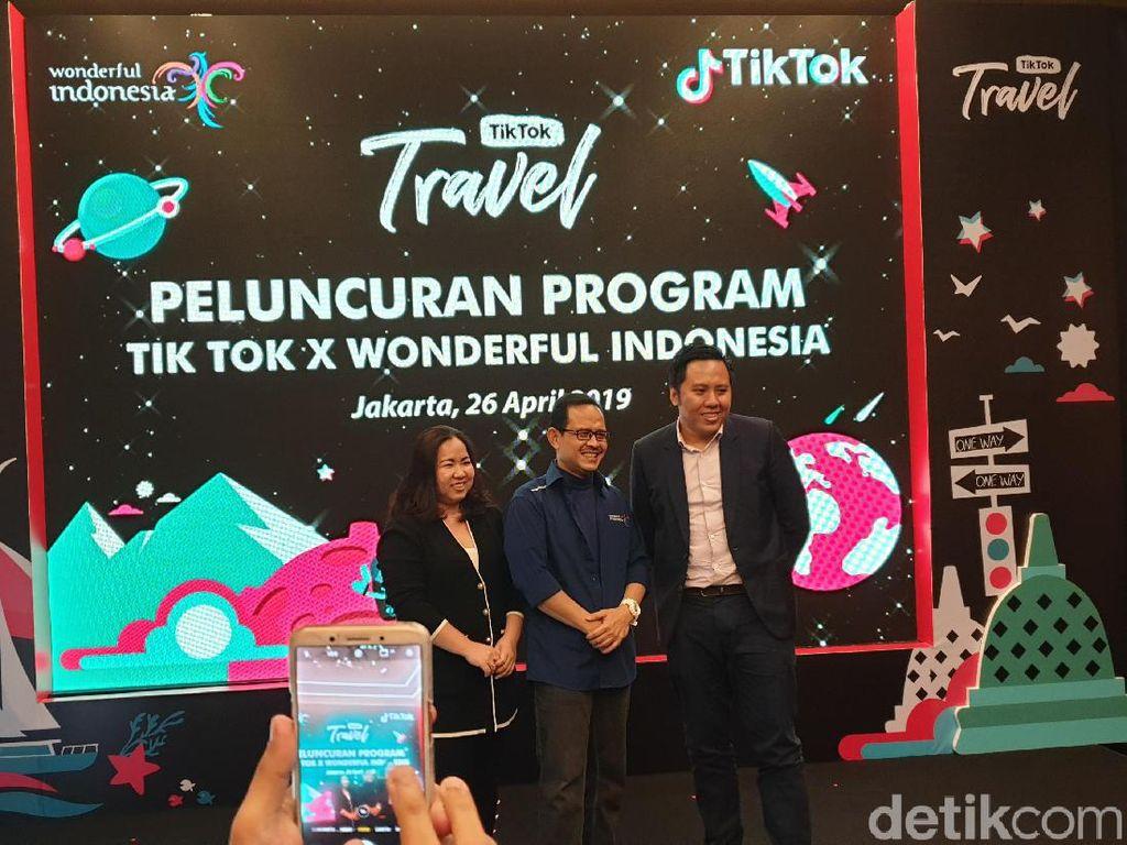 Mengharapkan Turis Milenial Datang ke Indonesia Lewat Tik Tok
