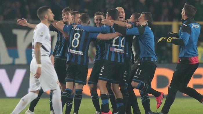 Atalanta Berhasil Melangkah Fiorentina 2-1 Di Leg Kedua Semifinal Coppa Italia