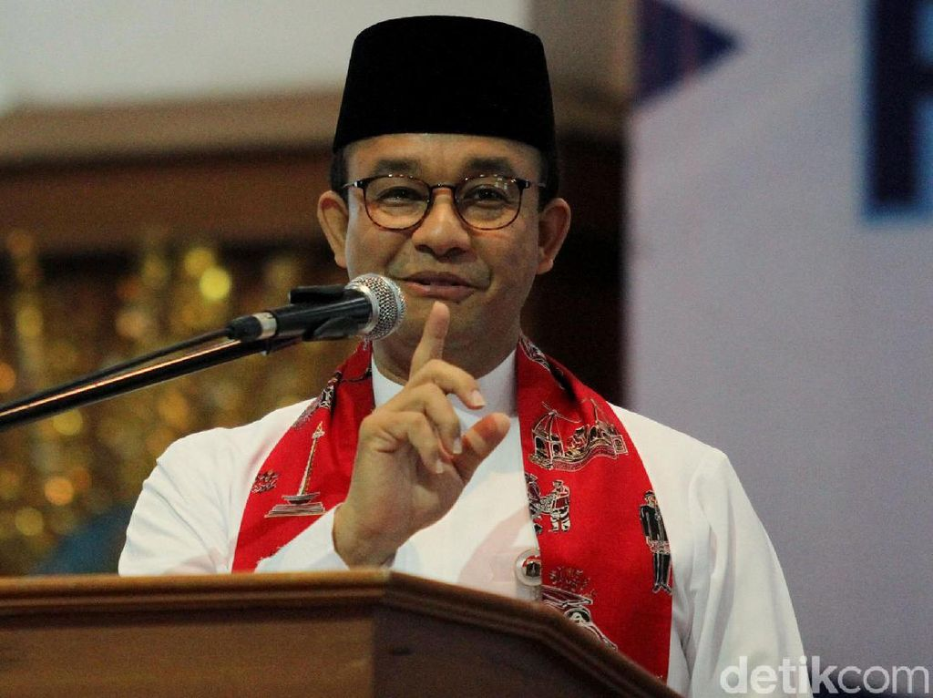 Berbaju Adat Betawi, Anies Mendata PBB Jakarta