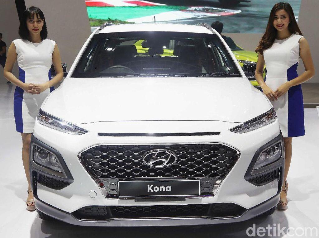 Hyundai Kona Rebutan Pasar dengan Toyota C-HR dan Mazda CX-3