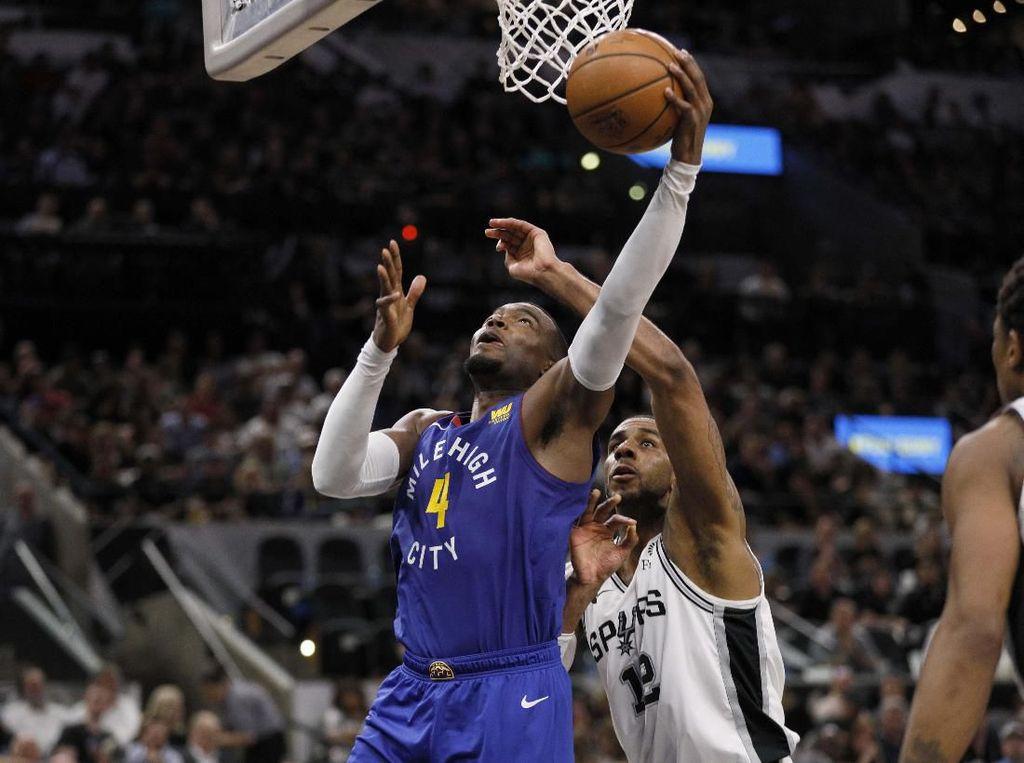 Hasil NBA: Spurs vs Nuggets Lanjut ke Gim Ketujuh