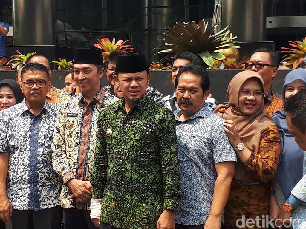Wali Kota Bogor Bima Arya Boyong Anak Buah Lapor LHKPN ke KPK