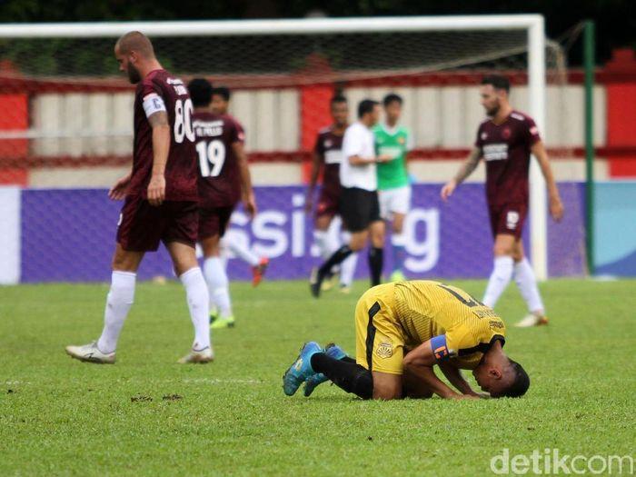 PSM Makassar menyingkirkan Bhayangkara FC di Piala Indonesia. (Foto: Rifkianto Nugroho/detikcom)