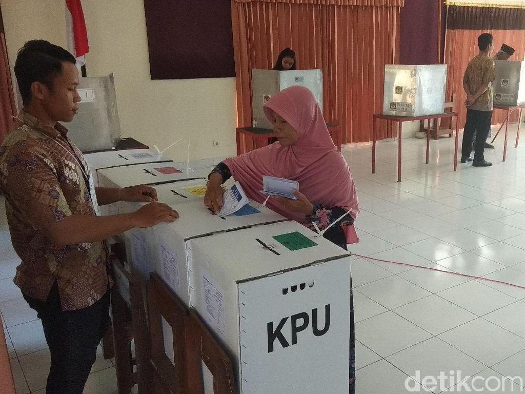 TPS 3 Bandongan Magelang Pindah di Aula Kecamatan Saat PSU Hari Ini