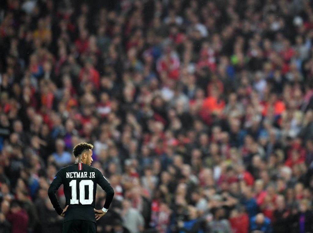 Neymar Kelahi dengan Penonton, Tuchel: Kalau Kalah Ya Harus Terima