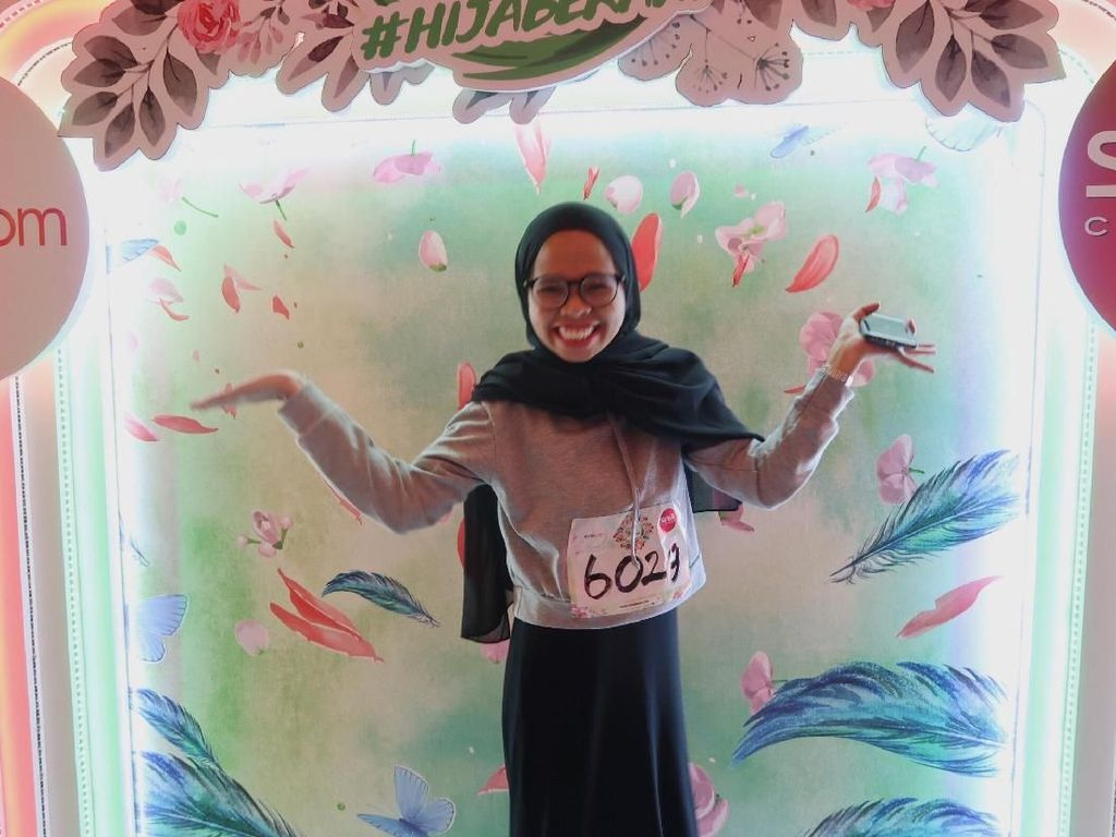 Berani Beda, Akting Hijabers Ini Hibur Penonton Sunsilk Hijab Hunt Makassar