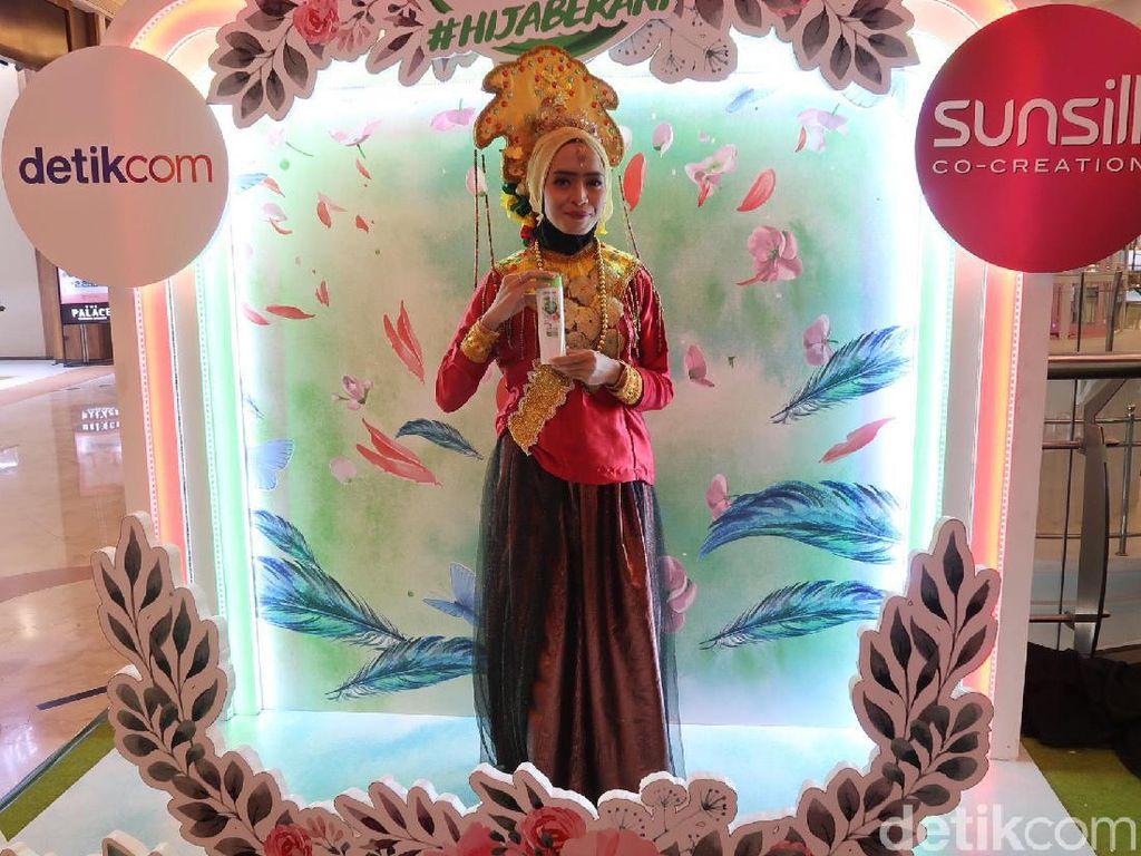 Hijabers Ingin Kenalkan Tari Kipas Khas Makassar Audisi Sunsilk Hijab Hunt