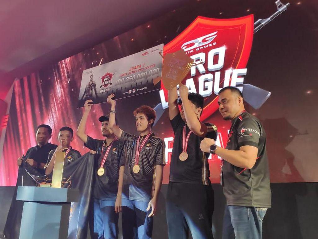 Sengit! Inilah Pemenang Turnamen Free Fire Pro League Telkomsel