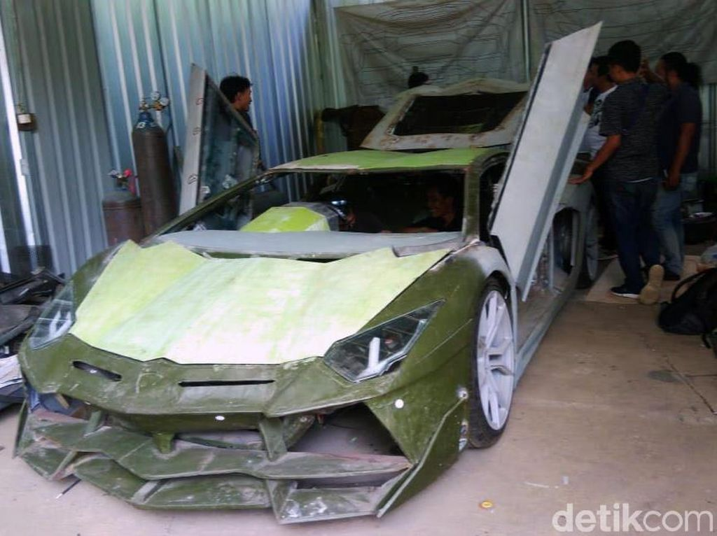 Ketika Mitsubishi Galant Jadi Lamborghini Aventador