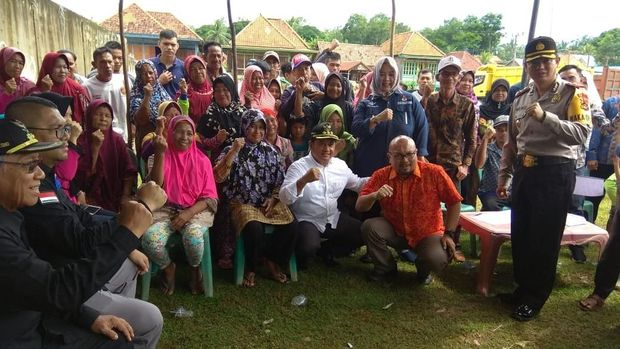 Komisioner KPU Ilham Saputra Pantau Coblosan Ulang di Banyuasin