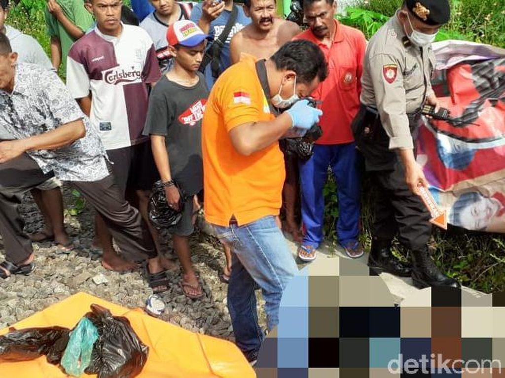 KA Dhoho Blitar-Surabaya Tabrak Pengendara Motor Hingga Tewas