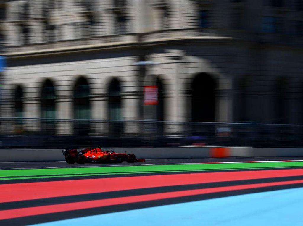 Leclerc Masih Tercepat di FP3 GP Azerbaijan, Ferrari Kembali Berkuasa