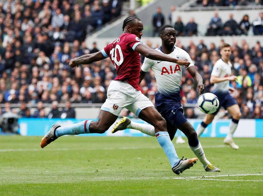 Hasil Liga Inggris: Tottenham Ditumbangkan West Ham 0-1