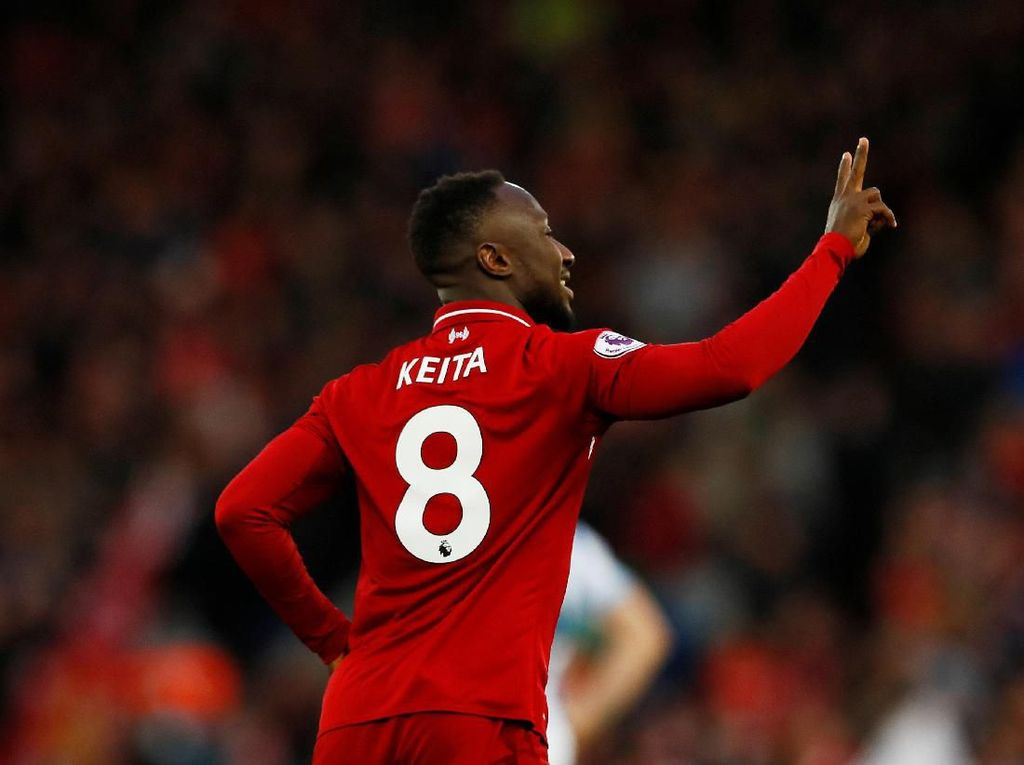 Naby Keita: Salah Seperti Kakakku di Liverpool