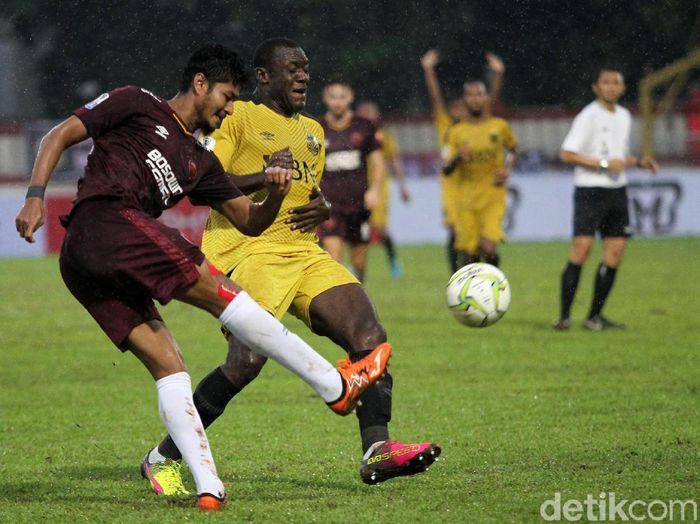 Salah satu bek PSM Makassar, Abdul Rahman Sulaeman, (Foto: Rifkianto Nugroho/detikcom)