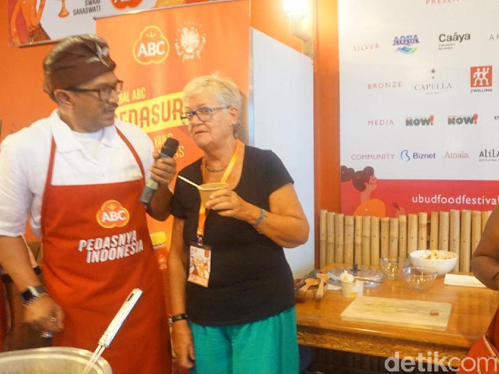 Saat Pedas Satukan Indonesia dan Para Bule di Ubud Food Festival
