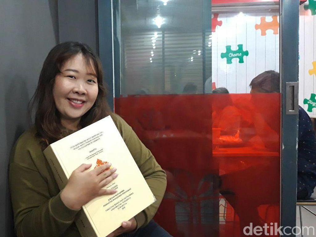 Mahasiswi Ubaya yang Skripsinya 1.150 Halaman Pernah Dapat IPK 1,5