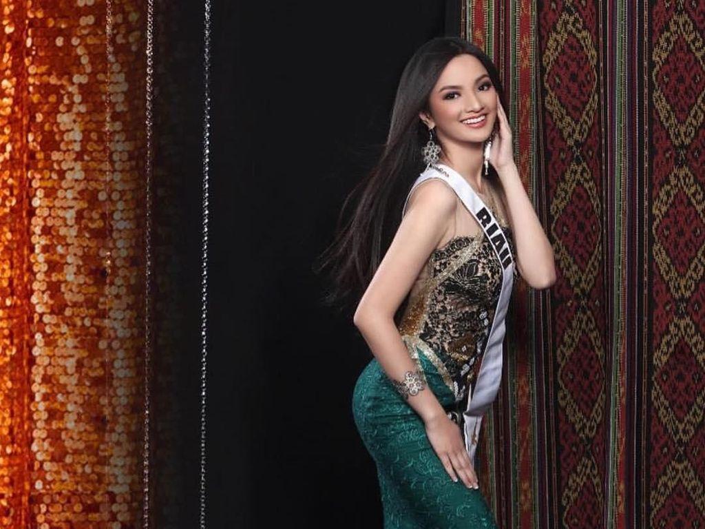 Kenalan dengan Puteri Indonesia 2019 dari Riau, Si Cantik yang Berjiwa Sosial