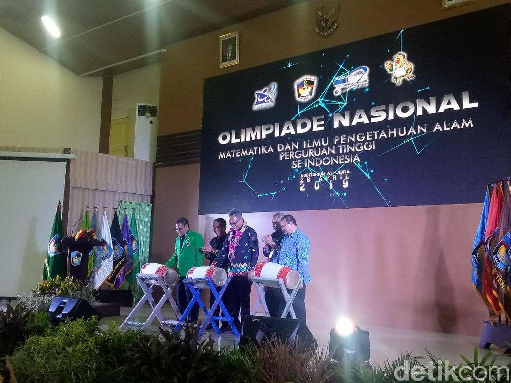 Olimpiade Nasional Matematika dan IPA Digelar di Makassar