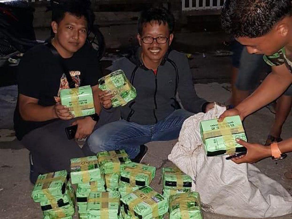 BNN Gagalkan Peredaran 52 Kg Sabu dengan Kemasan Teh dari Malaysia