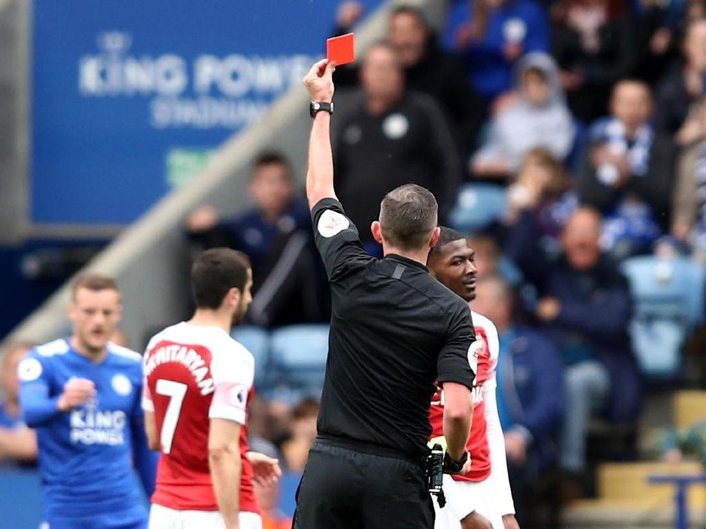 Arsenal Kalah, Emery Gugat Kartu Merah Maitland-Niles