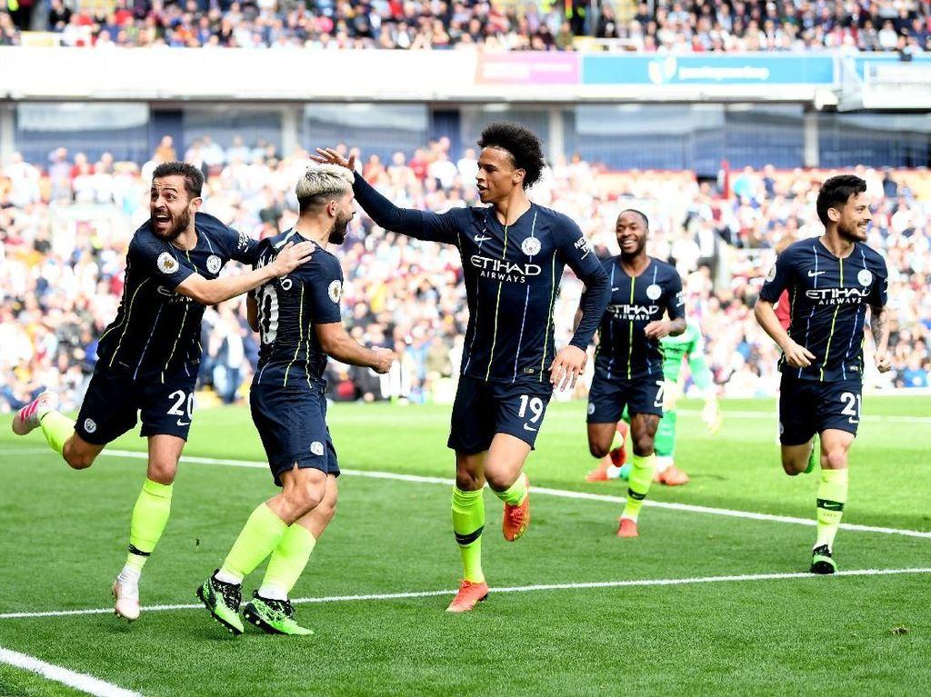Klasemen Liga Inggris: Man City Teratas, Arsenal Gagal ke Empat Besar