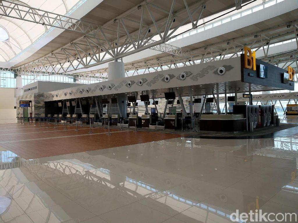 Sepi di Bandara Internasional Kertajati