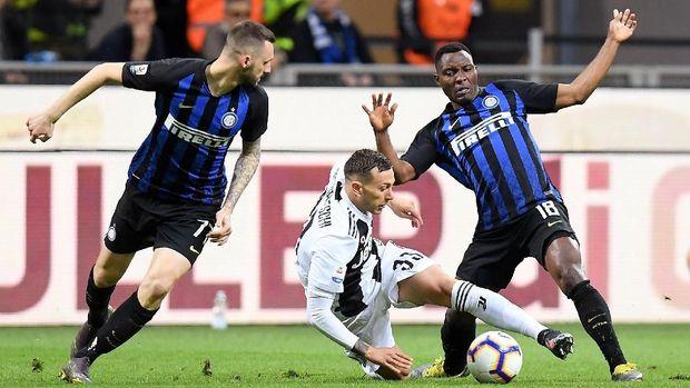 Hasil Liga Italia: Inter Diimbangi Juventus 1-1