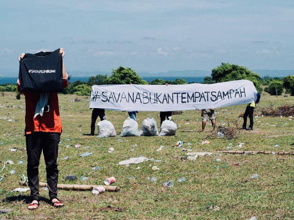 Pengelolaan Sampah di Savana Tambora Harus Ditangani Serius