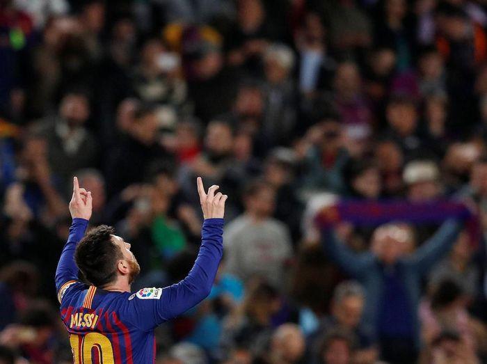 Gol-gol terbaik babak semifinal Liga Champions (REUTERS/Albert Gea.)