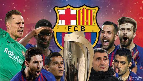 Barcelona Kampiun LaLiga